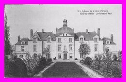 Théme Chateau -  Rezé Les Nantes -  Le Chateau De Rezé  N°14 ( Scan Recto Et Verso ) - Other Municipalities