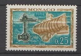 Monaco 1962 : N° 593 - Neuf ** Sans Charnière - - Monaco