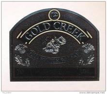 Etiquette De Scotch  Whisky  -  Gold Creek -   Ecosse - Whisky
