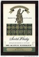 Etiquette De Scotch Whisky   -  John Cooper  -  Ecosse - Whisky