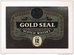 Etiquette De Scotch  Whisky  -  Gold Seal -   Ecosse - Whisky