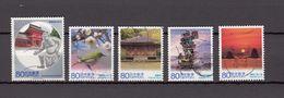 Japan 2012 - Local Autonomy Law Oita, Used Stamps, Michelnr. 6207-11 - Gebruikt