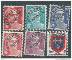 France  Préoblitéré N° 100 / 03 + 104 / 05 XX  Type Marianne De Gandon Et Armoirie : Les 6 Valeurs  Sans Charnière, TB - Préoblitérés