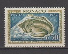 Monaco 1962 : N° 595 - Neuf ** Sans Charnière - - Monaco