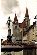 CPA N°10674 - ANSBACH  - ST. JOHANNISKIRCHE UND MARKGRAF GEORG-BRUNNEN - Ansbach