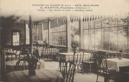 CHAUVORT Par ALLEREY - Hotel Beau Rivage,G Martin Propriétaire. - Sonstige Gemeinden
