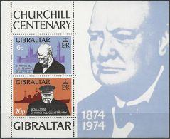 GIBRALTAR 1974 Mi-Nr. Block 1 ** MNH - Gibraltar