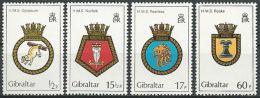 GIBRALTAR 1982 Mi-Nr. 447/50 ** MNH - Gibraltar