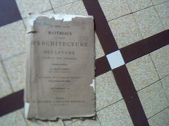"""Vieux Papier  Art Architecture Pochette Avec Planches Theme """" Oeuil De Boeuf""""  ** Annee 1901 /1902 - Architecture"""