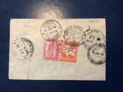 Afghanistan 1935 Cover KANDAHAR > Bombay India Via Kalal-Jadid (lettre Brief Pakistan - Afghanistan
