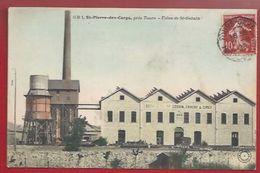 37 - SAINT-PIERRE-DES-CORPS - USINE  SAINT-GOBAIN, CHAUNY & CIREY - HAUT-FOURNEAU - 1909 - GB TOURS - Andere Gemeenten