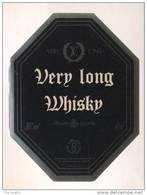 Etiquette De   Whisky  -  Very Long  -  France - Whisky