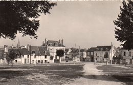CPSM  -  LIGUEIL  (37)   Champ De Foire   ( Plan Différent) - Autres Communes
