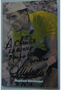 Raphaël GEMINIANI - Signé / Autographe / Hand Signed / Dédicace - Ciclismo