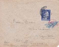 Lettre De Francfort Censurée Par L'OKW - 1921-1960: Modern Period