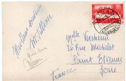 Tarjeta Postal - MARRUECOS Protectorado Espanol  1936 - TETUAN - Calle Del Kiari Allun - Marocco Spagnolo