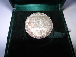 Médaille Vatican, Jean XXIII Palais Du Quirinale En Argent 988/000, 23gr - Autres
