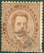 Italy 1878 Effige Umberto I 30 C - Lot. RE41 - 1878-00 Umberto I