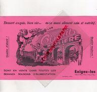 86- L' ISLE JOURDAIN- RARE BUVARD BISCUITS MERLIERE- BISCUITERIE - IMPRIMERIE E. BEAULU POITIERS - PIE VOLEUSE - Food