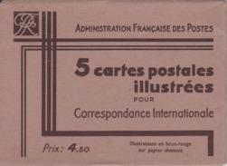 Cartes Postales Illustrées De Paris - Standard Postcards & Stamped On Demand (before 1995)