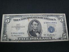 UNITED STATES $5 SILVER CERTIFICATE  1953A  (SKUPM26) - Silver Certificates (1928-1957)