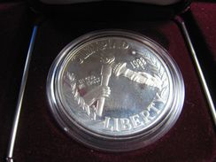 UNITED STATES  -  SEOUL OLYMPICS - 1988S  $1 SILVER PROOF COIN  (ersc2) - Federal Issues
