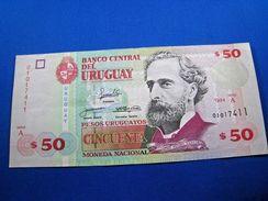 URUGUAY  1994  $50 BANKNOTE  CU  (mr) - Banknotes