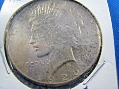 1926S  PEACE DOLLAR               (dp$7) - Federal Issues