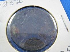 1852   LARGE CENT     (skL16) - 1840-1857: Braided Hair (Capelli Intrecciati)