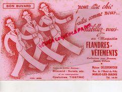 59- MALO LES BAINS-BUVARD FLANDRES VETEMENTS -MAISON DELEERNYDER-RUE HOTEL DE VILLE- BLIZZAND-SURALO -TISSTRIC - Vestiario & Tessile