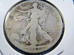 1923S  WALKING LIBERTY HALF DOLLAR                 (sk50-40) - Federal Issues