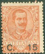 Italy 1905 Sovrastampato C. 15 MNH** - Lot. RE79 - 1900-44 Victor Emmanuel III