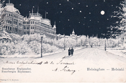 Helsingfors - Helsinki - Runebergs Esplanaden / Runebergin Esplanaati - 1899 - Finland