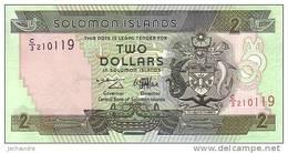 SALOMONS ISLANDS  2 Dollars  Non Daté (1997)   Pick 18     ***** BILLET  NEUF ***** - Salomons
