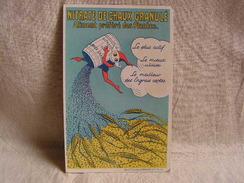 Carte Postale Ancienne Publicitaire Nitrate De Chaux Granulé 8 - Publicité