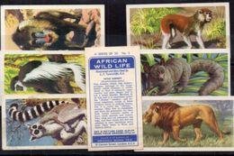 Brooke Bond Tea - African Wild Life  - 7 Images Dont N° 5 En Double - 4, 5, 6, 8, 9, 10 (100440) - Tea & Coffee Manufacturers