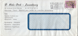 D. Nicks-Orth 3 Company Letter Covers Travelled 1962 Europa CEPT Stamp Melusina Slogan Pmk B171005 - Luxembourg