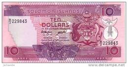 SALOMONS ISLANDS  10 Dollars  Non Daté (1986)   Pick 15a   Signature 5   ***** BILLET  NEUF ***** - Salomons