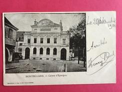 25 DOUBS, MONTBELIARD, Caisse D'Epargne, 1901, (Victor Barbier) - Montbéliard