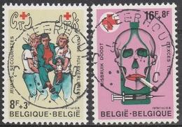 1921/1922 Rode Kruis/Croix Rouge Oblit/gestp Centrale - Oblitérés
