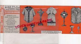 62- ARRAS -RARE BUVARD BIAIS ET FILS-74 RUE BONAPARTE-ORNEMENTS EGLISE-NOTRE DAME-CHASUBLERIE-LINGERIE-ORFEVRERIE-ROUEN - Textile & Clothing