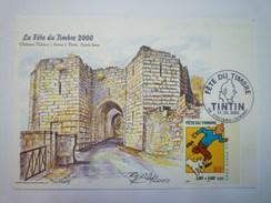 TINTIN  :  La Fête Du Timbre  2000    - Other Collections