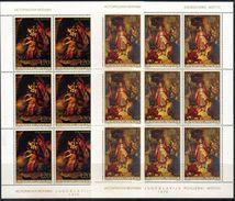 Yugoslavia,Art-Scene From History 1976.,mini Sheets,MNH - Nuevos