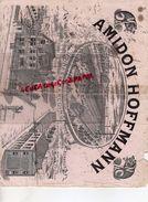 59 - MARCOING- TRES RARE GRAND BUVARD AMIDON HOFFMANN-AVEC VUE USINES DIRECTION BUREAUX-CHAT - Buvards, Protège-cahiers Illustrés