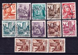 Württemberg-Hohenzollern 1948/49 - Französische Zone