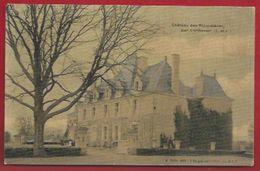 37 - CONTINVOIR -  - CHATEAU DES RICORDIÈRES - CARTE TOILÉE - Frankreich