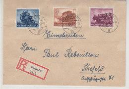 R-Brief Mit Ua. 880 Aus Krefeld 1.6.44 - Germany