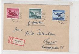 R-Brief Mit Ua. 882 Aus Krefeld 1.6.44 - Germany