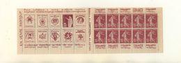 FRANCE - Carnet Pub N°189 C1 -Haut De Feuille -Grande Fraicheur Postale, Complet Avec Ses Feuilles Cristal De Protection - Carnets