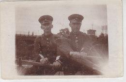 Soldatenfoto Im Ruderboot Aus Troisdorf - 1915 - Troisdorf